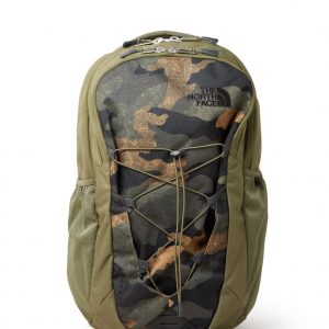 The North Face Jester rugzak met camouflagedessin en 15 inch laptopvak - unisex