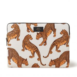 Wouf Leopard laptophoes 15 inch