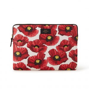 Wouf Poppy laptophoes met dessin 15 inch