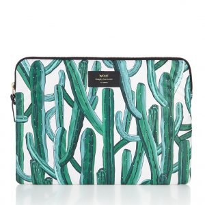 Wouf Wild Cactus laptophoes 13 inch met dessin